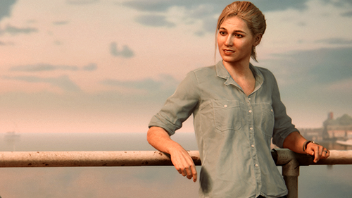 Uncharted 4 A Thiefs End Wallpaper Titled Elena Fisher