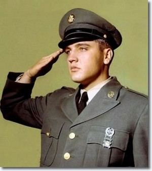 Elvis In Uniform