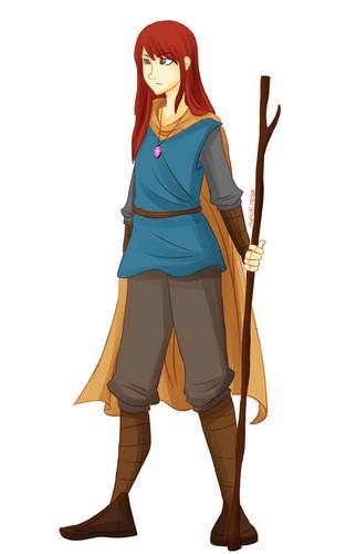 pagkabata animado pelikula pangunahing tauhan babae wolpeyper called Emily (The Stonekeeper)