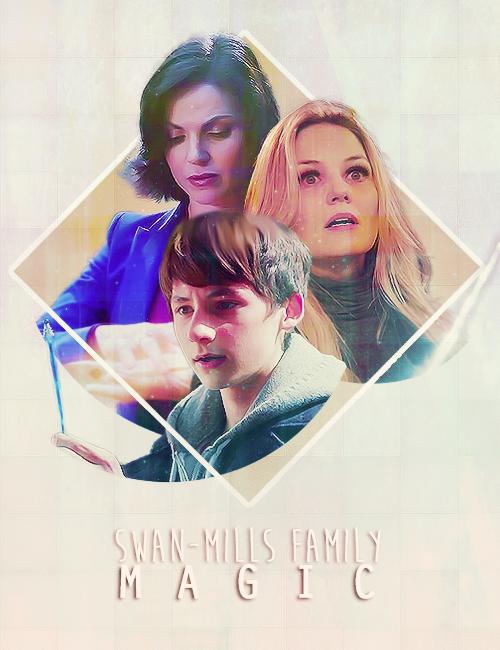 Emma, Regina and Henry