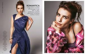 Emma Roberts ~ Grazia ~ June 2017