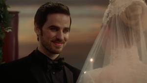 Emma and Hook's wedding