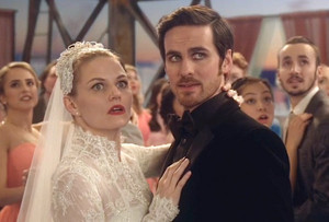 Emma and Hook's wedding