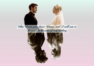 Emma and Killian Jones
