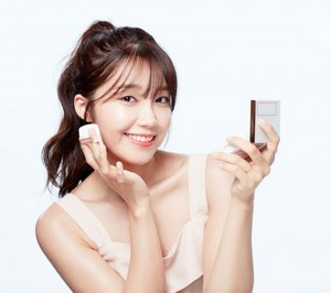 Eunji for makeup CF photoshoot