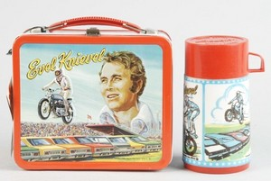 Even Knievel Lunchbox And Thermos Set