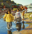 Evening On The San Pedro by David Nordahl