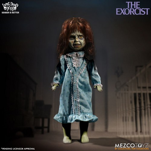 Living Dead Dolls karatasi la kupamba ukuta titled Exorcist
