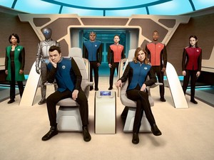 First Official foto for 'The Orville'