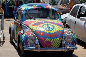 hoa Power VW Bug