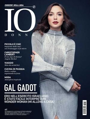 Gal Gadot - IO Donna Cover - 2017