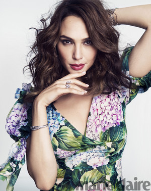 Gal Gadot - Marie Claire Photoshoot - 2017