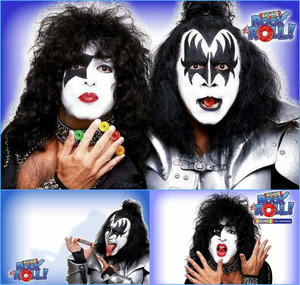 Gene and Paul ~April 16, 2002 (Lifesavers' Rock The Roll ad)