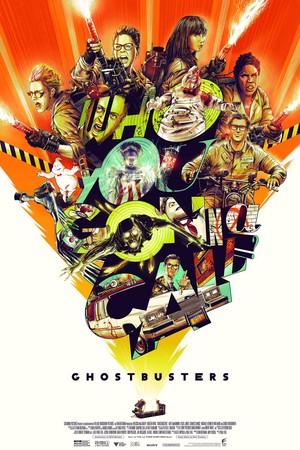 Ghostbusters (2016) Mondo Poster