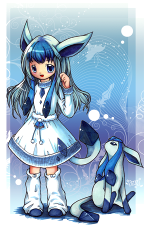 Glaceon Girl pokemon 23838356