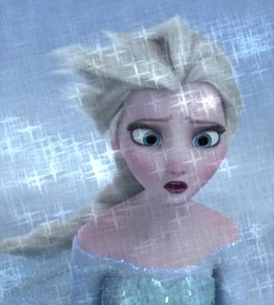 Glittery Elsa