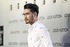 Godfrey at Louis Vuitton event