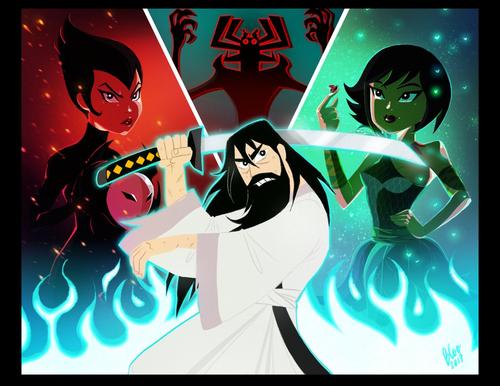 Samurai Jack Hintergrund entitled Good Change