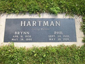 Gravesite Of Brynn And Phil Hartman
