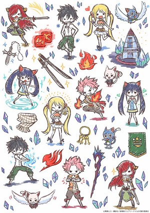 HM Twitter--Fairy Tail doodles