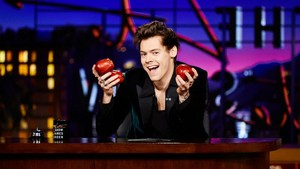 Harry on the Late Late Show