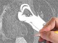 He draw Sasha La Fleur