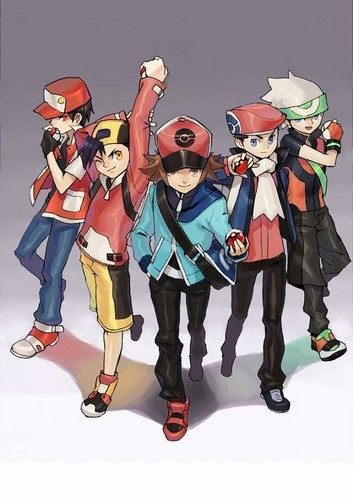 Pokemon Guys achtergrond called Heroes