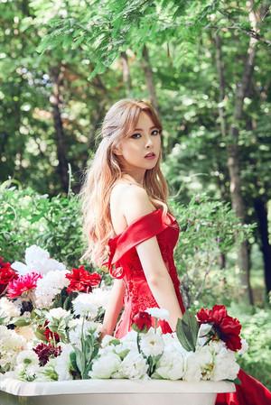 "Hyemi (Nine Muses) - ""IDENTITY"" Concept Pics"