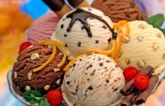 Luxurious Ice Cream Dessert