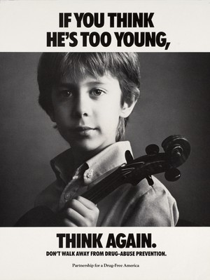 If bạn think, He's too young think again poster (1987)