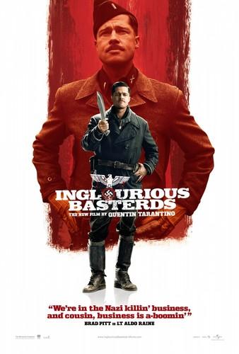 War filmes wallpaper called Inglourious Basterds (2009) Poster