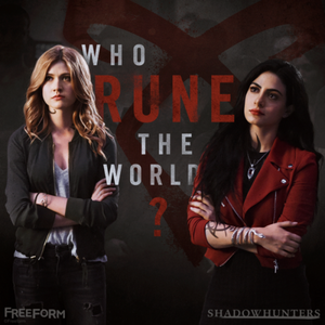 Isabelle and Clary