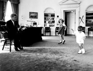 JFK Caroline and JFK Jr