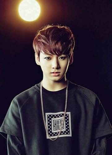 Jungkook (BTS) achtergrond entitled JUNGKOOK