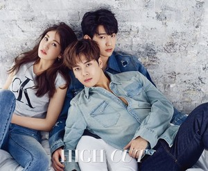 Jackson, Jinyoung and Somi for HighCut Magazine