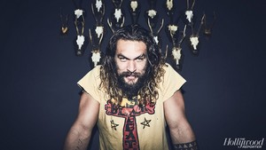 Jason Momoa - The Hollywood Reporter Photoshoot - 2016