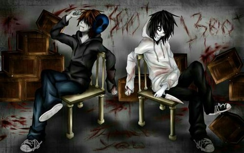 Jeff the killer hình nền titled Jeff the killer And Eyeless Jack