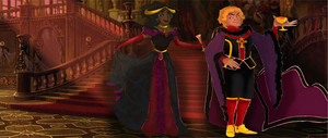 Jehan Frollo and Rebecca- Ball Outfits