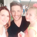 Jensen, Danneel and JJ - jensen-ackles photo