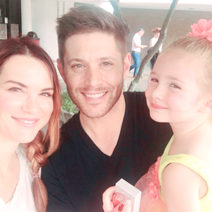 Jensen, Danneel and JJ