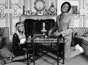Jermaine Jackson And First Wife, Hazel Gordy