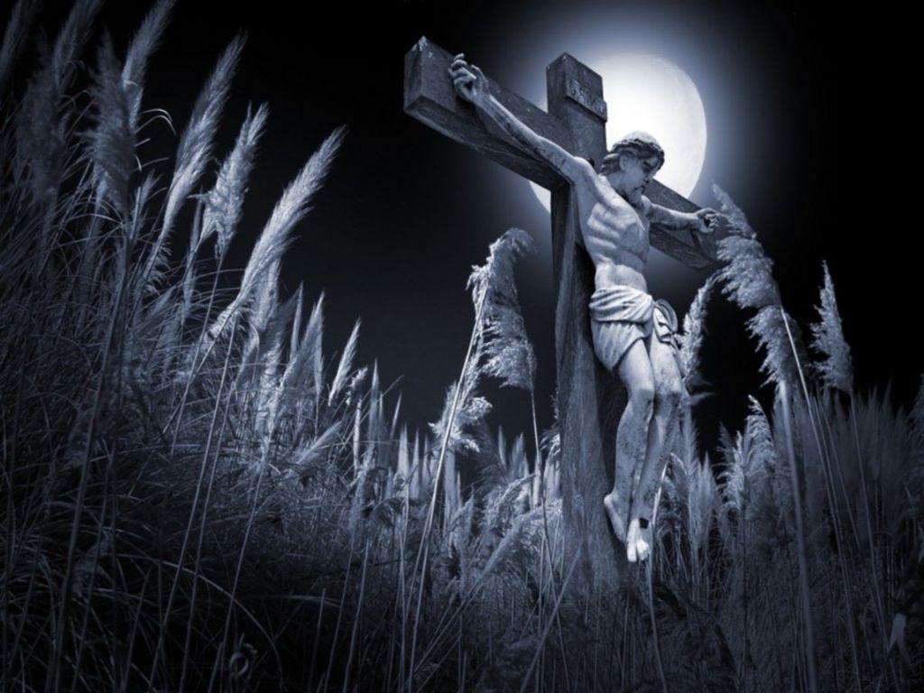 Yesus On The menyeberang, salib