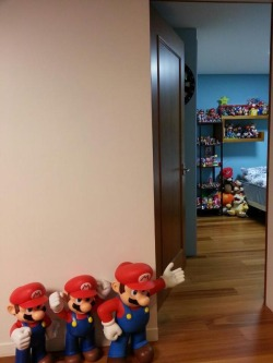 Jin's Mario collection