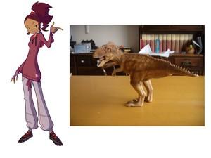 Jo e il giganotosauro