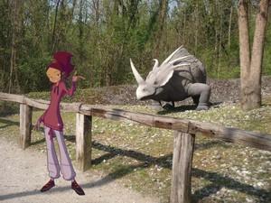 Jo e lo stiracosauro