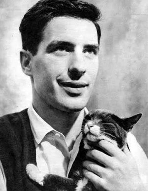 John Cassavetes And His Cat