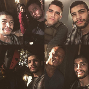Josh Segarra // arrow - Bangtan Boys