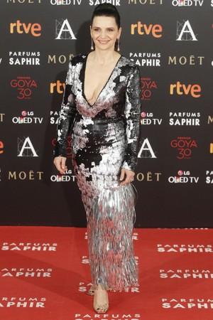 Juliette Binoche – 2016 Goya Awards