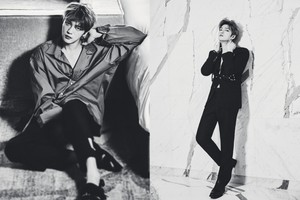 KIM JAE JOONG LOVES HIS شائقین FOR L'OFFICIEL HOMMES