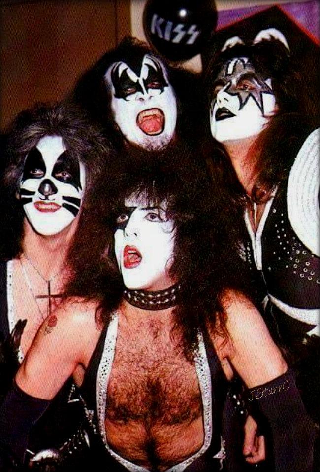 KISS ~Long Island, New York...December 31, 1975